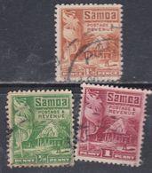 Samoa Mandat Néo-zélandais N° 98 / 100 O Partie De Série : Les 32 Valeurs Obnlitérées Sinon TB - Samoa