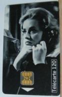 FR372 - FRANCIA 120 UNITA - TELEPHONE ET CINEMA - ASCENSEUR POUR L' ECHAFAUD - SCADENZA  10/96  N° D6C000234 - 1996