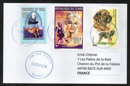TCHAD Enveloppe Cover Oblitération Abéché 08 11 2018 - Tchad (1960-...)