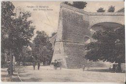 1921 PERUGIA MURAGLIONE FORTEZZA PAOLINA -- Z038 - Perugia