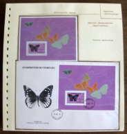 54414 Antigua & Barbuda 1985 Fdc Papillons Papillon Schmetterlinge Butterfly Butterflies Neufs ** MNH - Butterflies