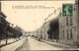 Cp Baccarat Lothringen Meurthe Et Moselle, Rue De Frouard - Frankreich