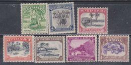 Samoa Mandat Néo-zélandais N° 121 / 27 X  Partie De Série : Les 7  Valeurs  Trace De Charnière Sinon TB - Samoa