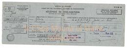 GUERITEY GASTON ET PAUL CULTIVATEURS CHAMPVANS - REMORQUE PELISSIER 5729 39 JURA DECLARATION CIRCULATION - KFZ