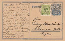 Allemagne Entier Postal Inflation 1923 - Allemagne