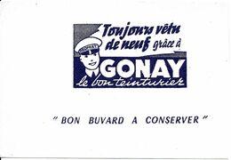 BUVARD BLOTTING PAPER TEINTURERIE GONAY CHAMBERY AIX LES BAINS ANNECY TEINTURIER - Textile & Vestimentaire