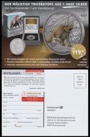 Germany 2020, Dinosaur, Prehistoric Animal, Postcard - Timbres