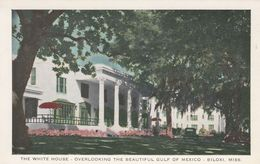 BILOXI, Mississippi, 1910-20s; The White House, Overlooking Gulf Of Mexico - Autres