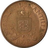Monnaie, Netherlands Antilles, Juliana, 2-1/2 Cents, 1978, TTB, Bronze, KM:9 - Antillen (Niederländische)