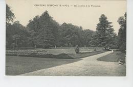 EPONE - Le Château - Les Jardins à La Française - Epone