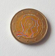 PAYS BAS 2013 - 200 ANS DU ROYAUME -  2 EUROS COMMEMORATIVE  -  VERSION COULEUR - Pays-Bas