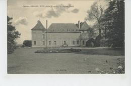 EPONE - Le Château - Façade Ouest - Epone