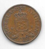 *netherlands Antilles 2,5 Cent  1977  Km 9  Xf+ - Antillen (Niederländische)