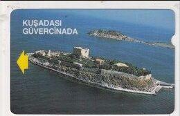 TK 25947 TURKEY - Alcatel 1 Group Bacoded Cards - TR-BC 60  100 U. Kusardasi Pigeon Island - Turquie