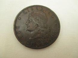Tres Belle  Piece  De  2 Centimes  1893    Argentine - Argentinië