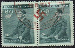 Böhmen-Mähren 1942, MiNr 86, FDC Rot Gestempelt - FDC