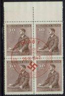 Böhmen-Mähren 1942, MiNr 85, FDC Rot Gestempelt - FDC