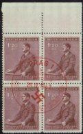 Böhmen-Mähren 1942, MiNr 87, FDC Rot Gestempelt - FDC