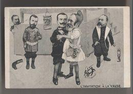 Satire Politique - VALSE DES NATIONS  - Président En Fillette - Jouets - Caricature Hommes Politiques - Surrealisme - Ereignisse
