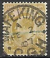 CAP DE BONNE  ESPERANCE   -    1903 .  Y&T N° 62 Oblitéré  Mafeking - Afrique Du Sud (...-1961)