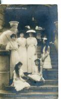 N°2523 R -carte Photo Schlob Colmar Berg -Prinz Charlotte, Ophie, Hilda, Elisabeth- - Grand-Ducal Family