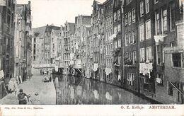 Pays Bas Amsterdam  Kolkje + Timbre Cachet 1906 - Amsterdam