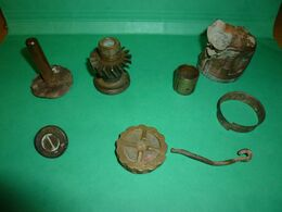 Piéces  Grenades Anglaise N°1 Mk 1 N°3 Mk 1 N°5 Mk1 - 1914-18