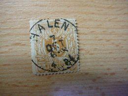 (28.07) BELGIE 1870 Nr 28 Met Mooie Afstempeling HALEN - 1869-1888 Lying Lion