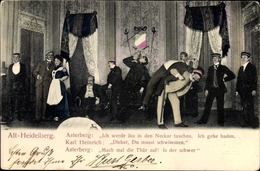 Studentika Cp Alt Heidelberg, Asterberg, Karl Heinrich, Studenten, Theaterszene - Schauspieler