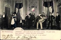 Studentika Cp Alt Heidelberg, Asterberg, Karl Heinrich, Studenten, Theaterszene - Attori