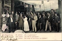 Studentika Cp Alt Heidelberg, Theaterszene, Dr. Jüttner, Karl Heinz, Der Mai Ist Gekommen - Schulen
