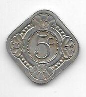 *netherlands Antilles 5 Cent  1957  Km 6   Unc/ms63 - Antillen (Niederländische)