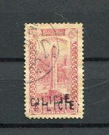 !!! CILICIE, N°33 VARIETE SURCHARGE DOUBLE OBLITEREE - Oblitérés