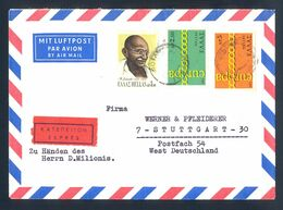 PORTUGAL - Letter Sent By Registered Mail Franked With Two Europa-CEPT Stamps. Letter Sent By Registered Mail From Campo - Europa-CEPT