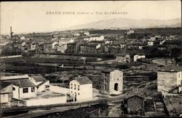 Cp Grand Croix Loire, Vue De L'Abattoir - France