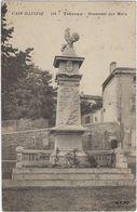 01 Trevoux   Monument Aux Morts - Trévoux