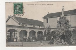 CPA MIRECOURT INTERIEURE DE L HOPITAL LES ARCADES - France