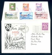 HERM ISLAND 1961 - Nice Illustrated Cover For Europa With Nice Commemorative Cancel And Stamps. - Europa-CEPT