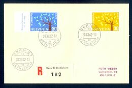 SWITZERLAND - Cover Sent By Registered Mail Franked With Two Europa-CEPT Stamps. Cover Sent By Registered Mail From Bern - Europa-CEPT