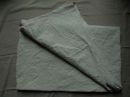 Ancien - Drap Toile De Coton écru S.N.C.F. Années 50 - Laces & Cloth