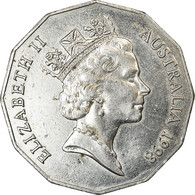 Monnaie, Australie, Elizabeth II, 50 Cents, 1998, TTB, Copper-nickel, KM:364 - Monnaie Décimale (1966-...)