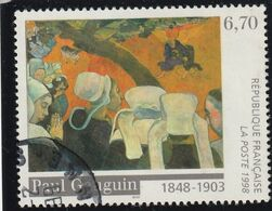 FRANCE ( 1998 )  Oblitéré  N° 3207 + Cachet Rond  - REF MS - Variété - Variedades Y Curiosidades