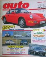 AUTO - N.2 - FEBBRAIO 1989 - ANNO V - LANCIA THEMA 8.32 - OPEL VECTRA - CITROEN AX 14 TRD - SUZUKI VITARA - VW PASSAT - Moteurs