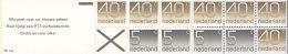 NIEDERLANDE  MH 24, Postfrisch, Mit 4x 1065 Du Und 6x 1068 Do, 1x 1068 Du Ziffern 1976, Titelseite: Alle Post... - Heftchen Und Rollen