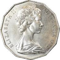Monnaie, Australie, Elizabeth II, 50 Cents, 1982, TTB+, Copper-nickel, KM:74 - Monnaie Décimale (1966-...)