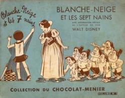 Album Chromo - 047 - Blanche-Neige Et Les Sept Nains, Chocolat Menier, Environ 1940 - Incomplet - Menier