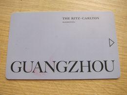 The Ritz Carlton Guangzhou - Cartas De Hotels