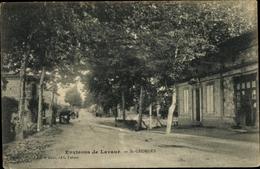 Cp St. Georges Lavaur Environs Tarn, Straßenpartie, Gebäude - France