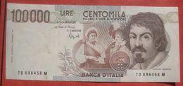 100000 Lire 1.9.1983 (WPM 110b) - [ 2] 1946-… : Repubblica