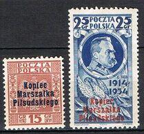 POLOGNE 389A**-389B** - 1919-1939 République